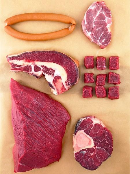 Bio-Einsteiger-Fleischbox
