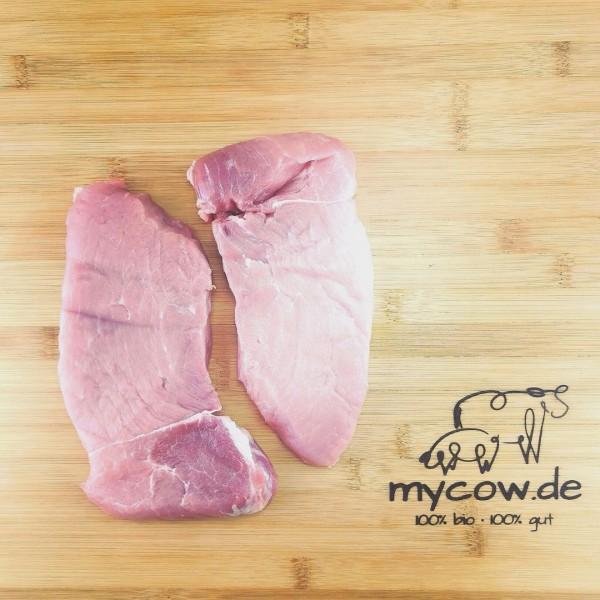 Bio-Schweine-Rückensteak