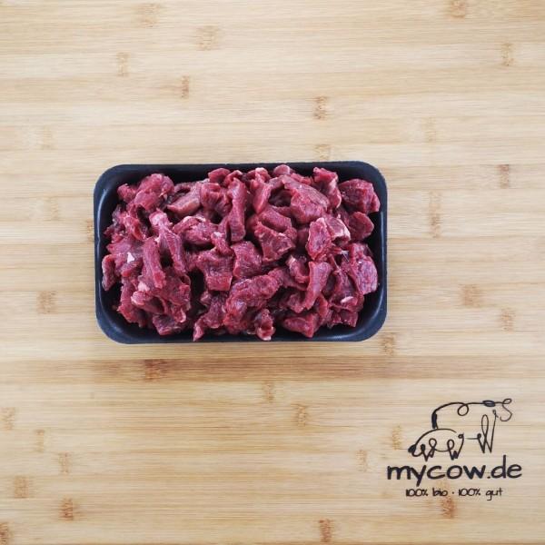 Bio-Rinder-Filet-Geschnetzeltes