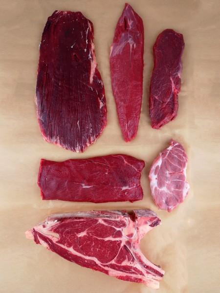 Bio-Steakliebhaber-Fleischbox