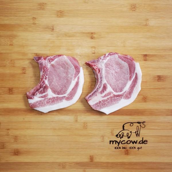 Bio-Schweine-Kotelett