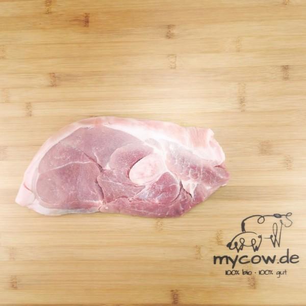 Bio-Schweine-Holzfällersteak