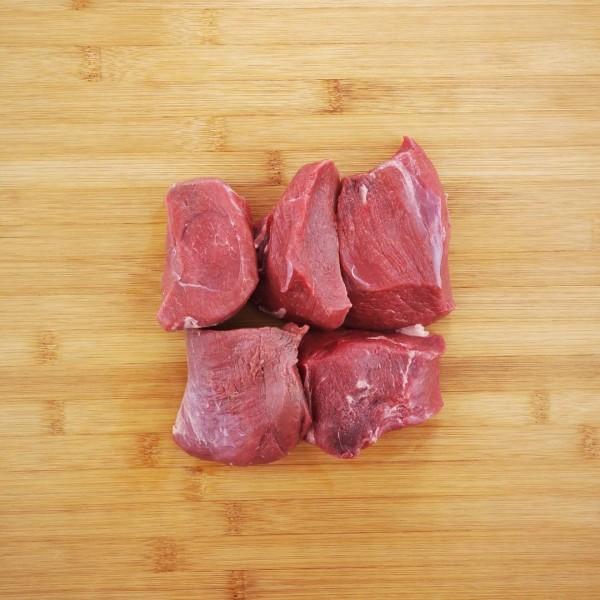 Junge Wildschwein-Steaks