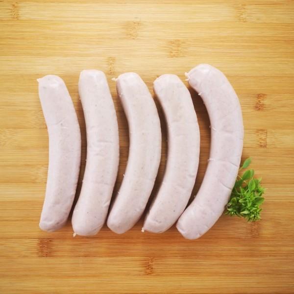 Wildschwein-Bratwurst
