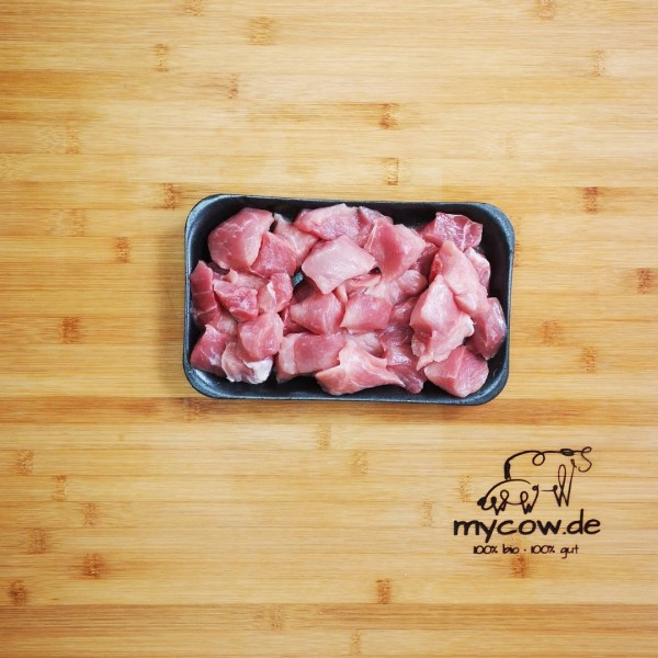Bio-Schweine-Gulasch